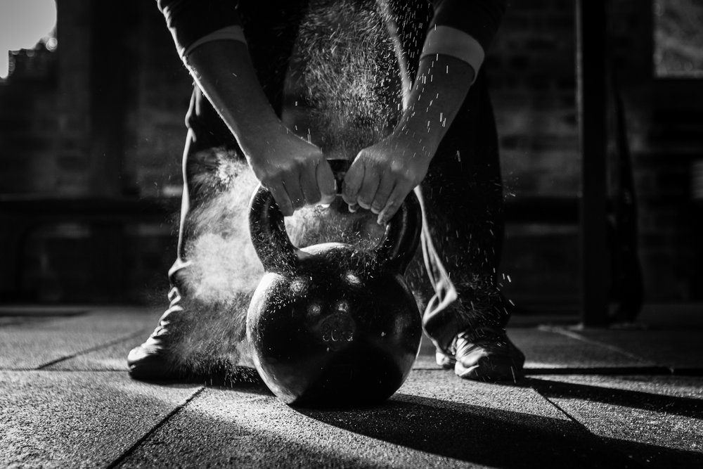 Kettlebell = Serious Strength