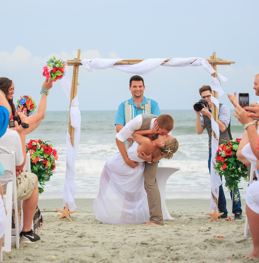 The Beach House Garden City Sc: Myrtle Beach Wedding Officiant