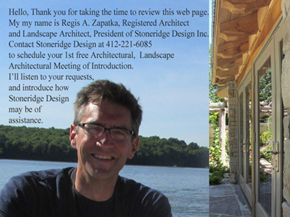 About Stoneridge Design Inc Reviews About Regis Zapatka