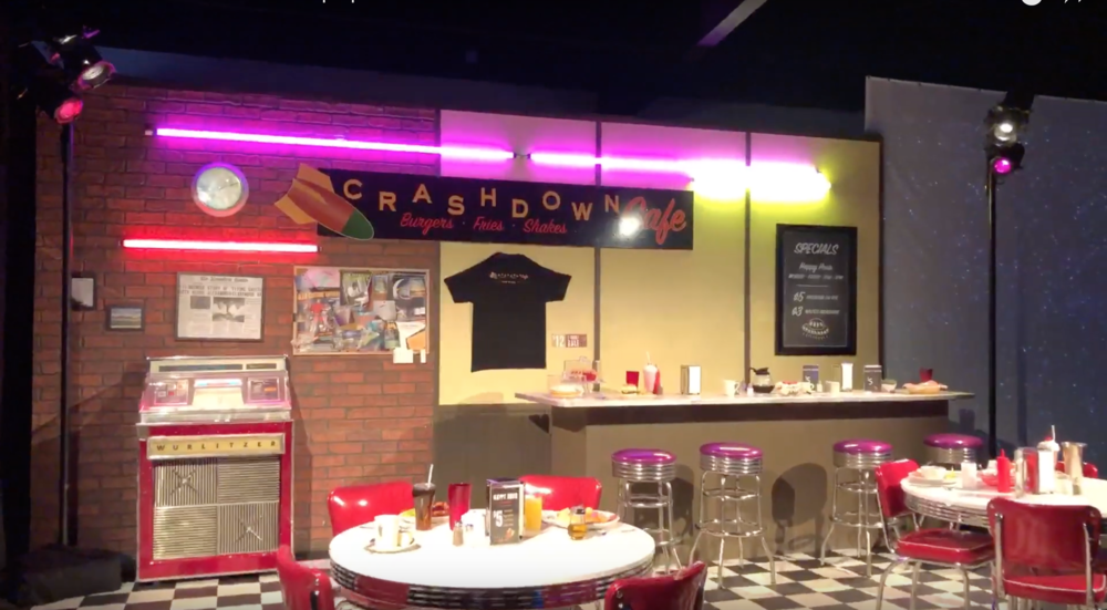 The CW Roswell Crashdown Pop-up, Experiential Event
