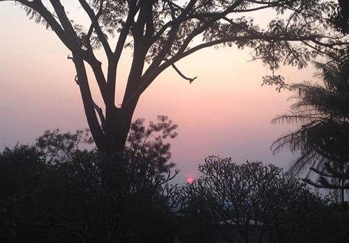 A beautiful Bundi Sunset!