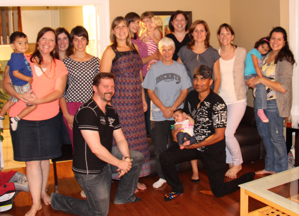Goodbye Ottawa. A farewell party with some of my Ottawa friends!