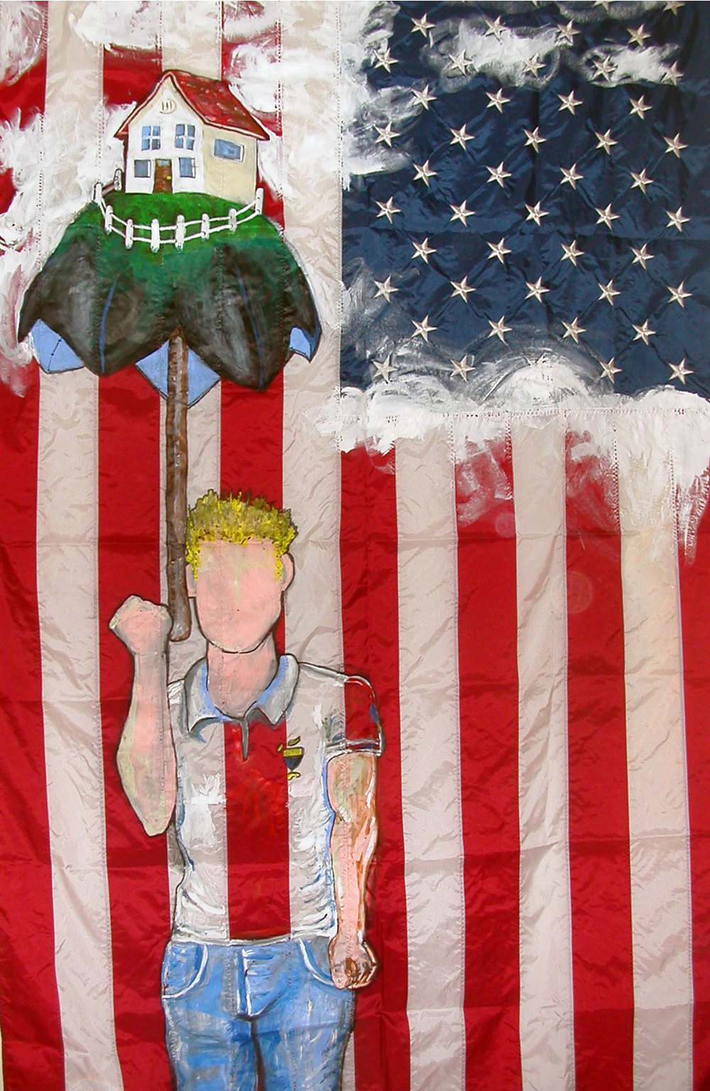 The Flag, Mixed Media 2004