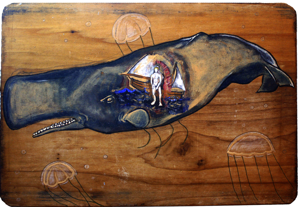 Whale, Mixed Media, 2007