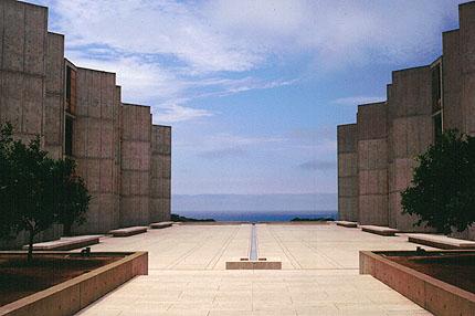 JOnas Salk Institute, La Jolla, CA Louis I. Kahn, Architect