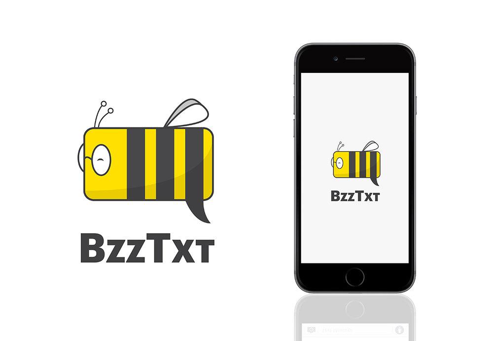 BzzTxt Logo