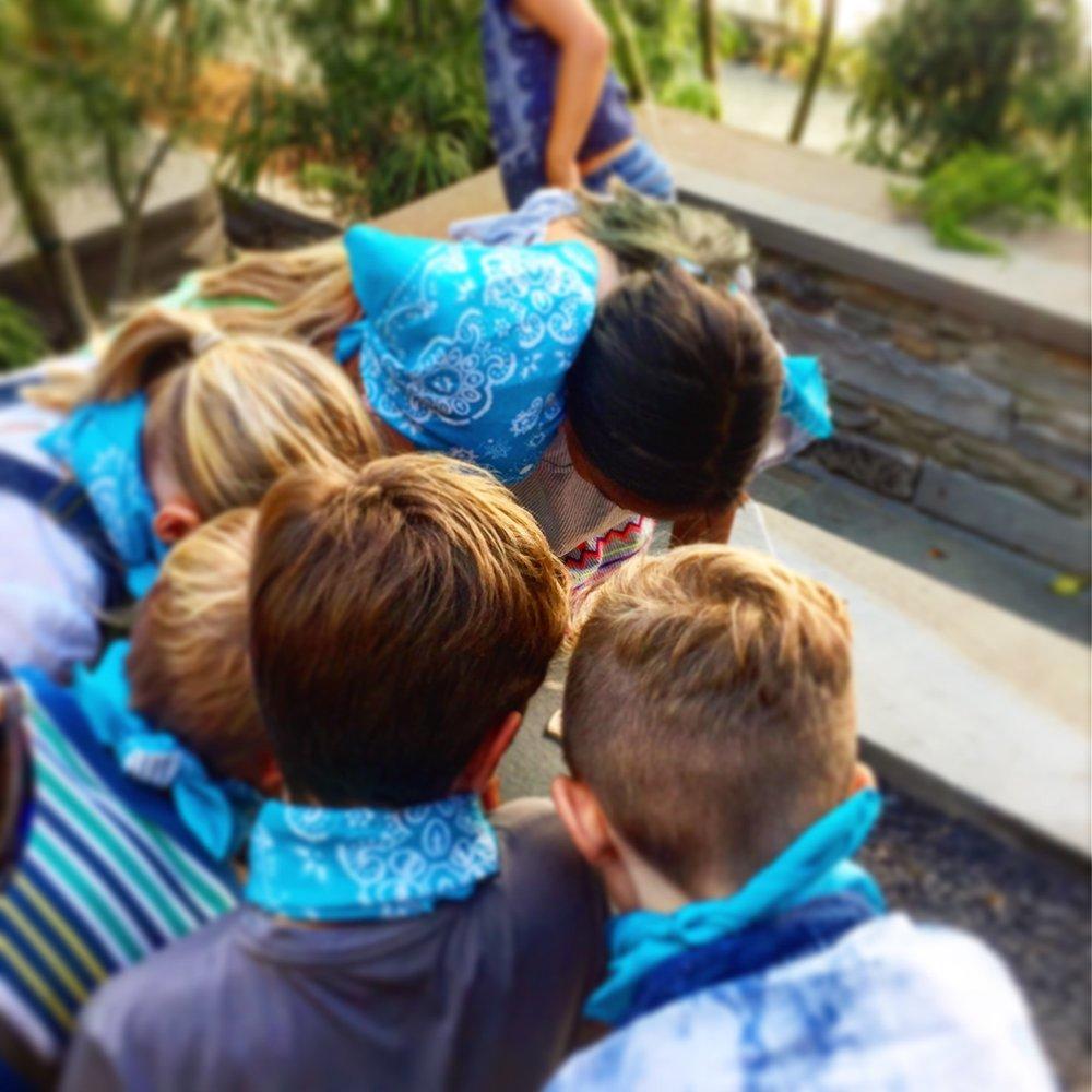 children birthday party in san francisco social good scavenger hunt