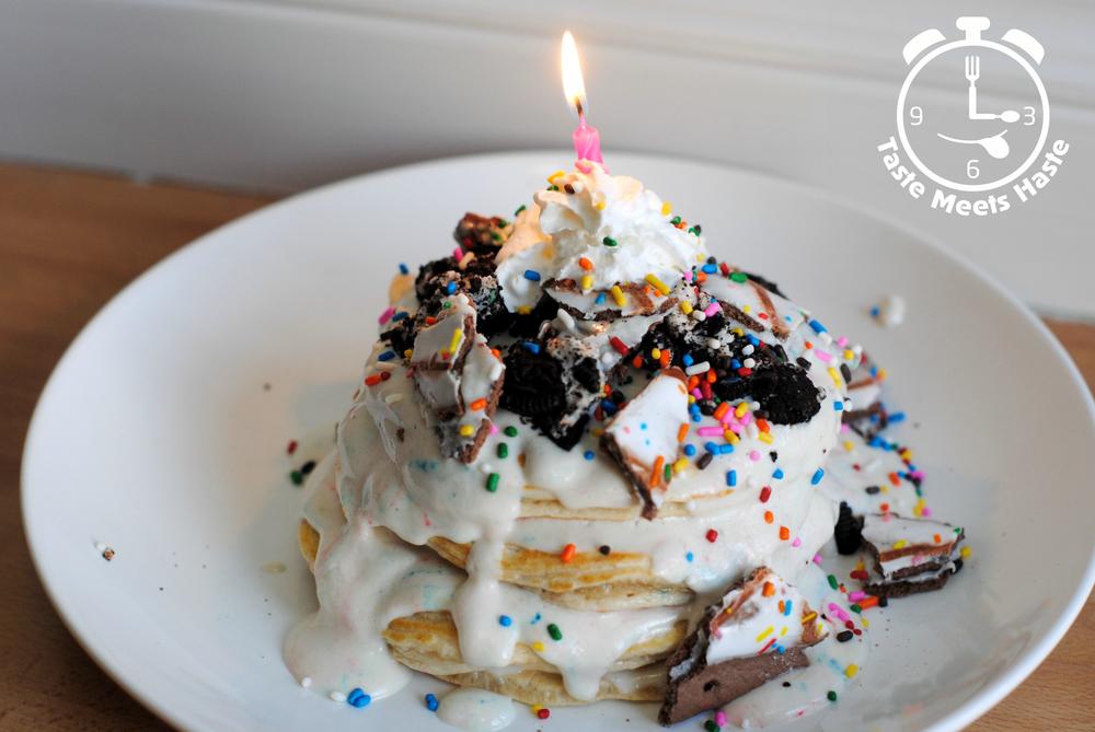 Birthday Cake Pancakes Taste Meets Haste