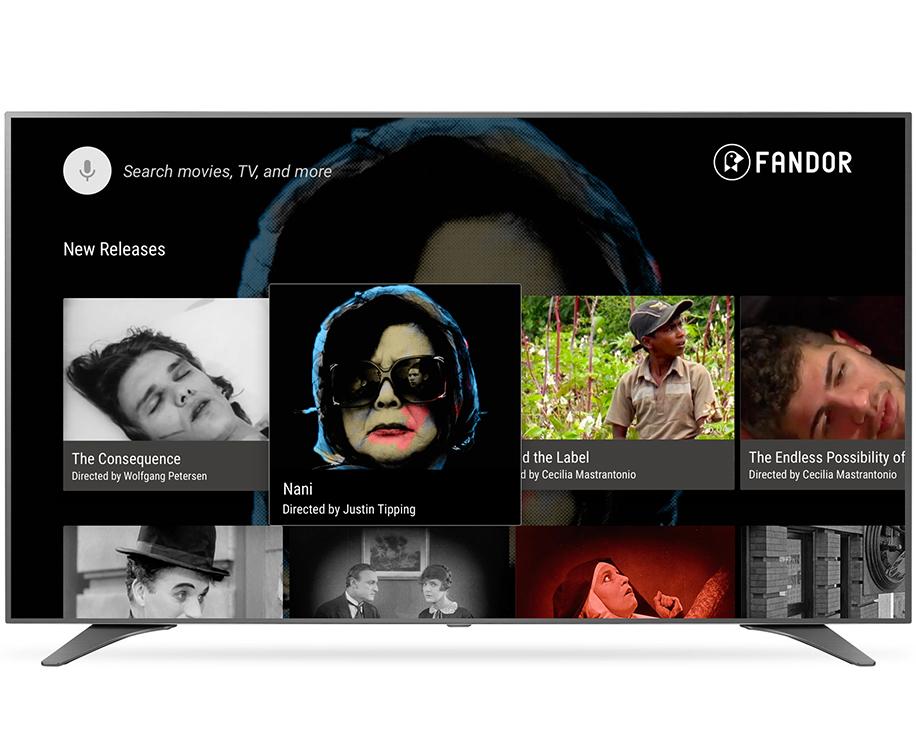 Fandor Android TV app