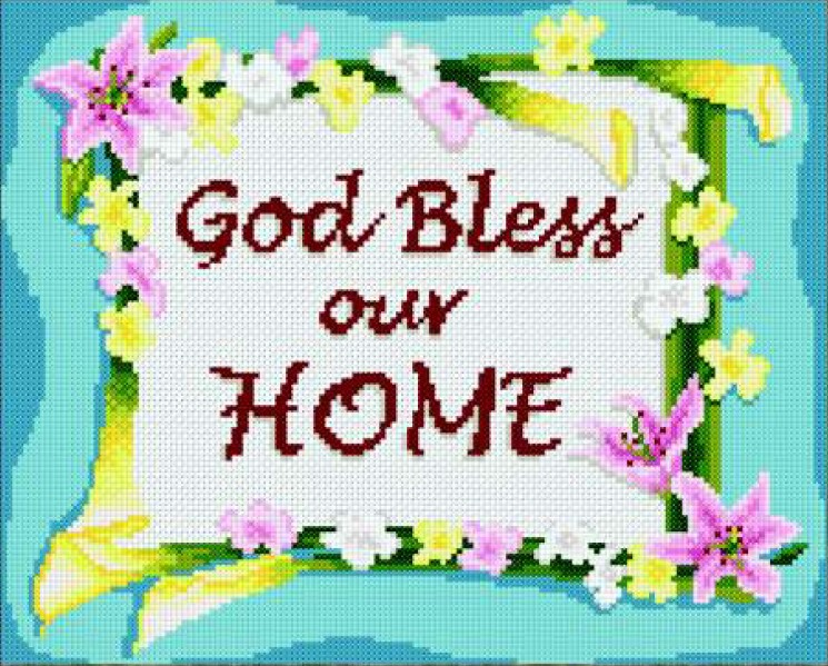 Favorite God Bless Our Home — DMC Philippines QJ55