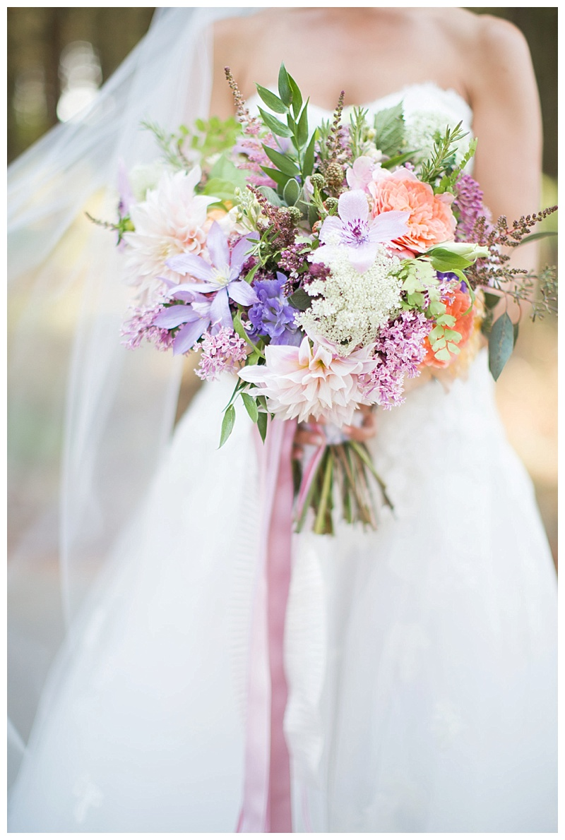 portland wedding florist oregon garden wedding 1
