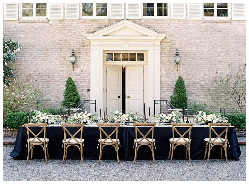 Seattle Wedding Florist Lakewold Reception Table