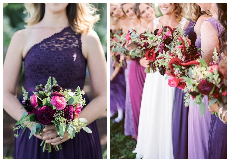 Oregon Bridesmaids bouquets Floral Design