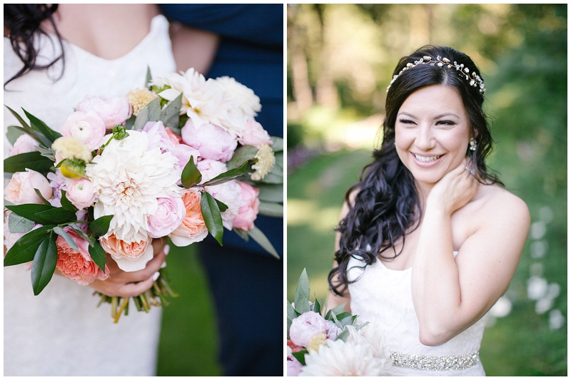 Wedding Florist Oregon Bride