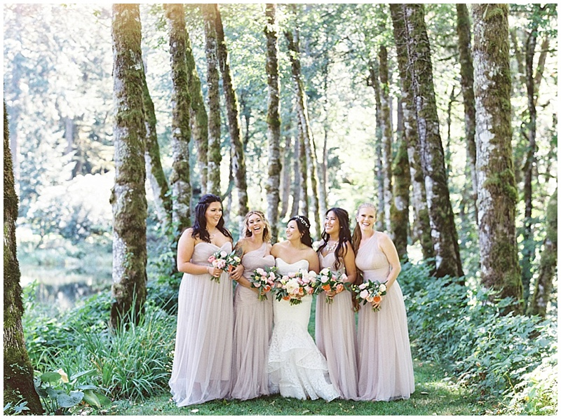 Oregon Wedding Florist bridesmaids bouquets