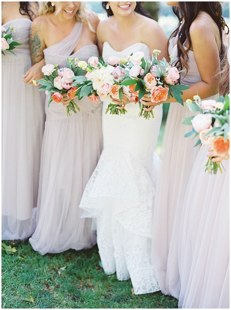Wedding Florist Oregon Bridal Party