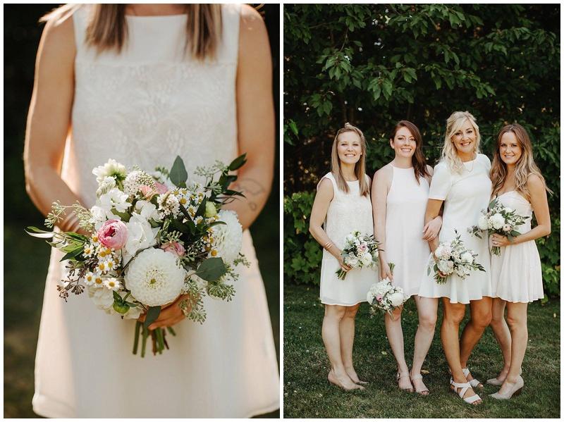 Wedding Florist Oregon bridesmaid bouquets