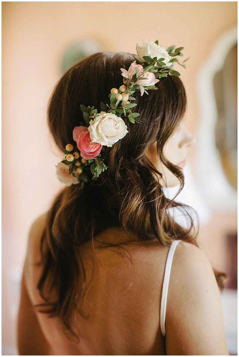 Oregon Wedding Florist Flower Crown