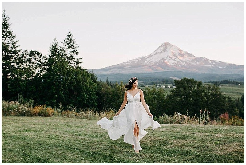 Oregon Wedding Florist Mt. Hood Bride