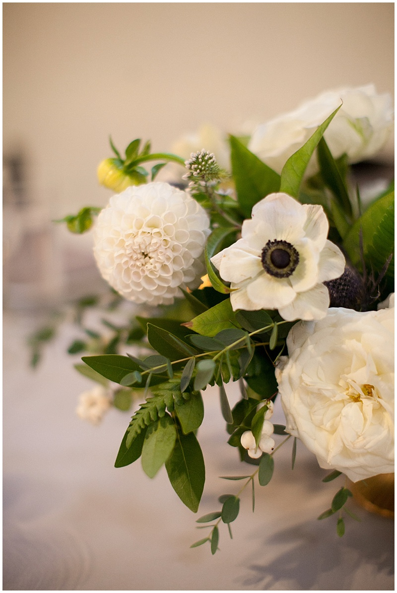 Portland Wedding Florist reception