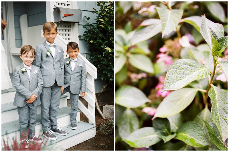 Portland Wedding Florist details