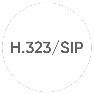 Interoperability with H.323/SIP  Communicate with any legacy endpoint, including Polycom, Cisco and Lifesize