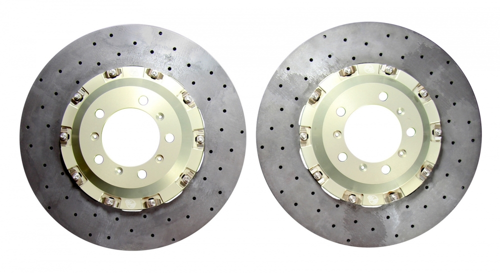KIT CONTENTS: TWO BRAKE DISCS