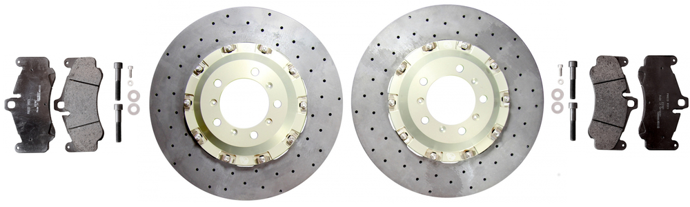 Brake Kit, Hardware and Brake Pads