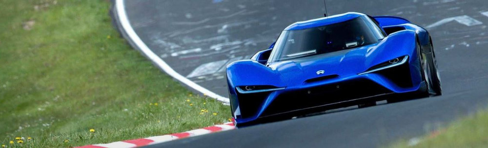 CCST brakes help electric hypercar NIO EP9 break Nurburgring production lap record