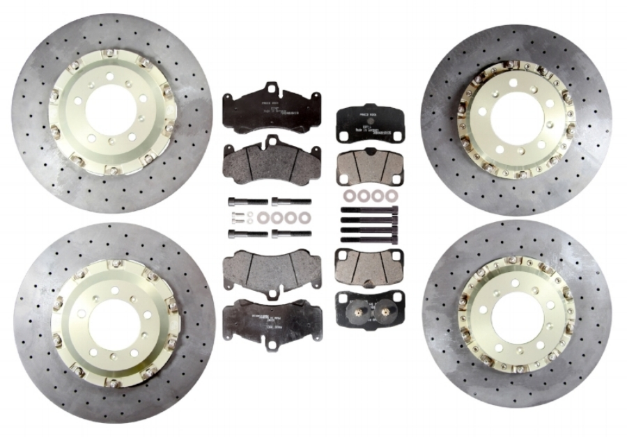 ROAD AND TRACK CAR UPgrade packs CONTENT: TWO FRONT BRAKE DISCS, TWO REAR BRAKE DISCS, FOUR FRONT BRAKE PADS, FOUR REAR BRAKE PADS, CALIPER BOLTS AND SPACERs