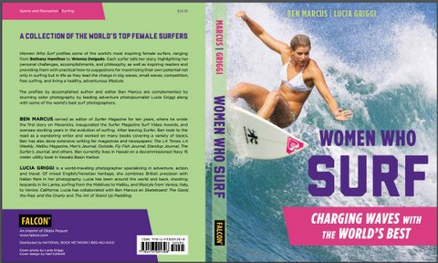 WOMEN WHO SURF COVER FEATURING ROSY HODGE