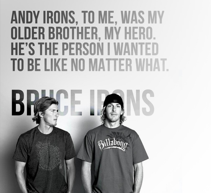 The Local - Andy Irons with Bruce and quote - .jpg