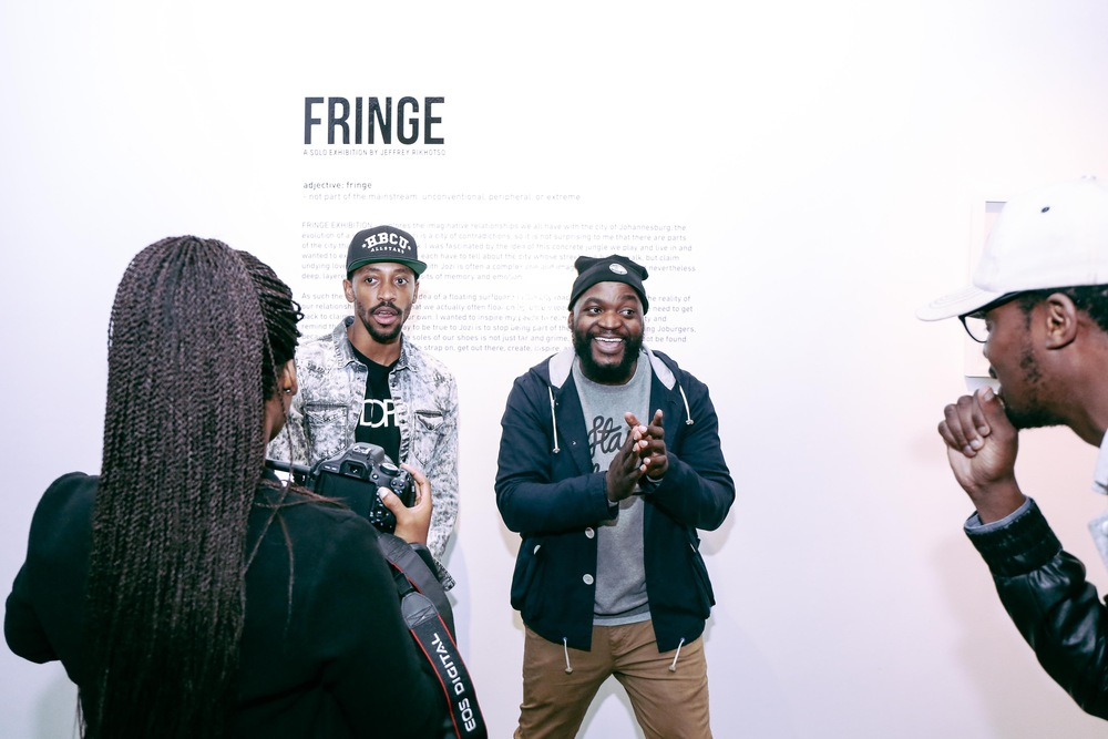 Finge Exhibition/Palladium 2.0 Launch at Kalashnikovv Gallery in Braamfontein