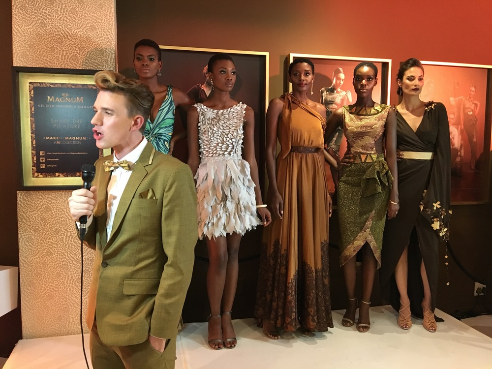 Designer Gert Johan Coetzee explains the inspiration behind his 'M Collection' for Magnum.