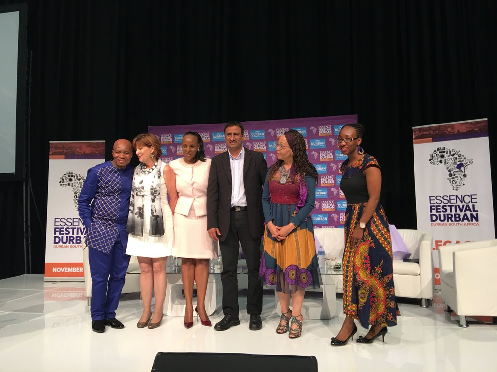 Panelists at Womens Empowerment Brunch