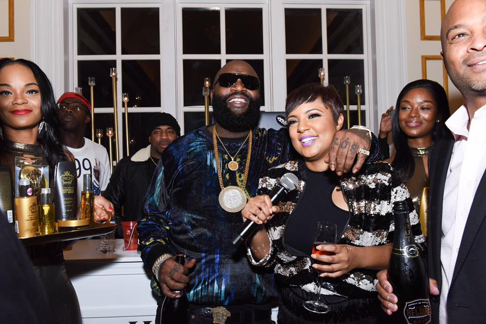 Rick Ross with Tahira Joy (The Cut Life)