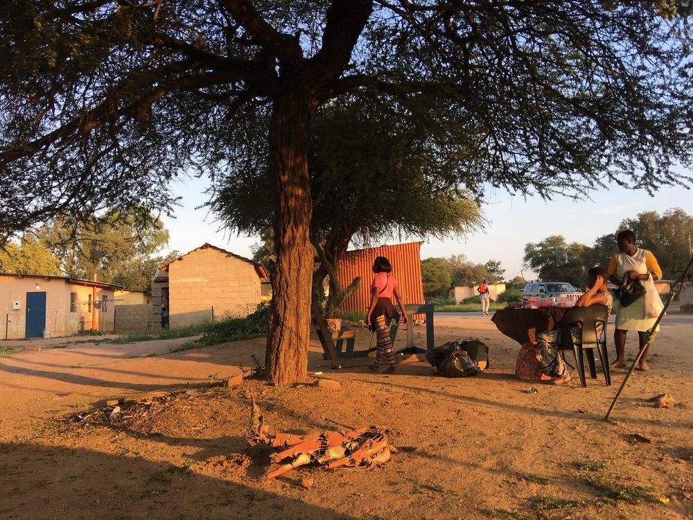 Tswana living...