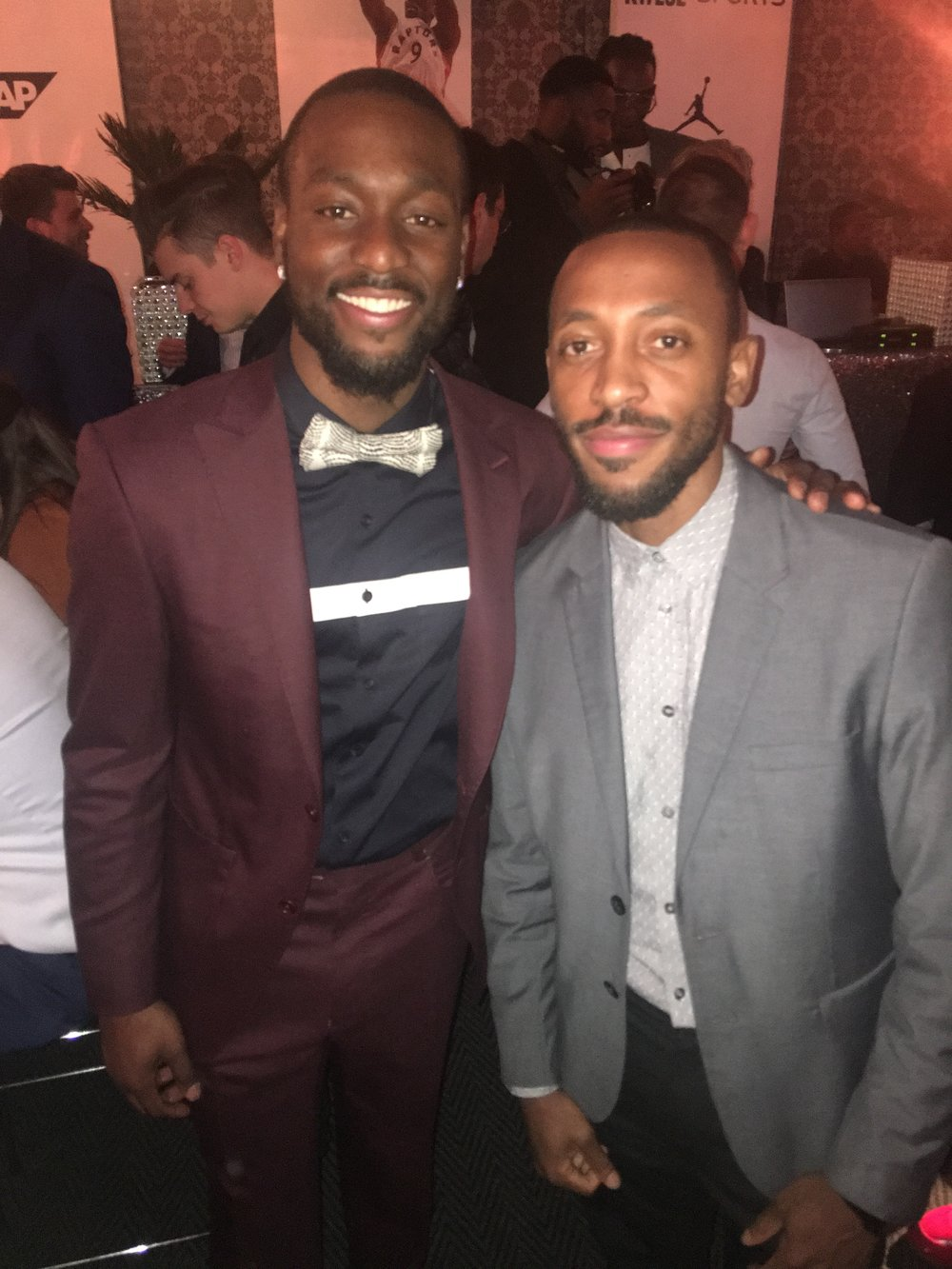 Kemba Walker (Charlotte Hornets) - Just two kids from the South Bronx in South Africa