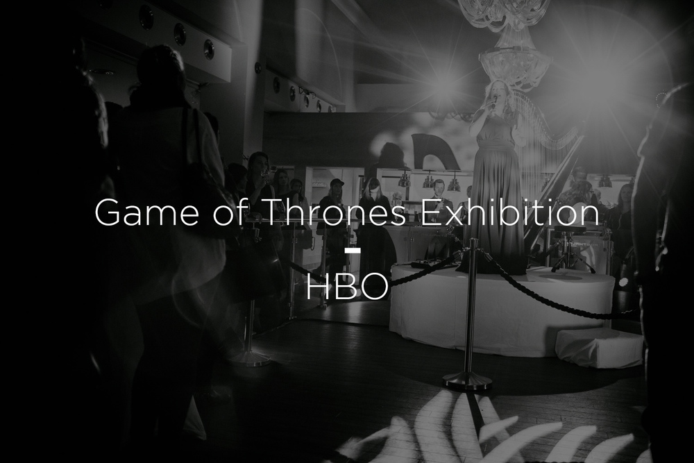 Game of Thrones utstilling – HBO