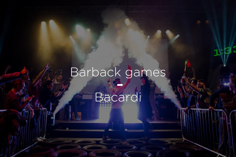 Barback Games – Bacardi Norge
