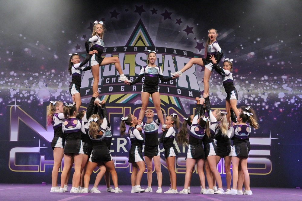 Bullets Allstars Cheerleading Melbourne competition squads