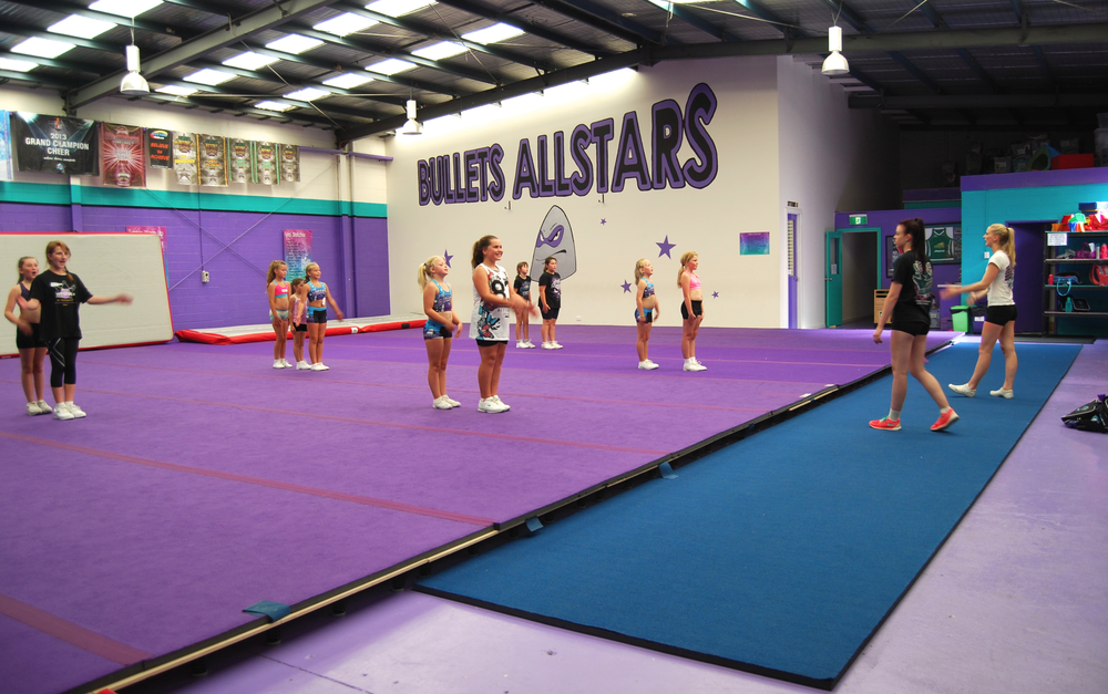 Bullets Allstars Cheerleading Melbourne recreational classes