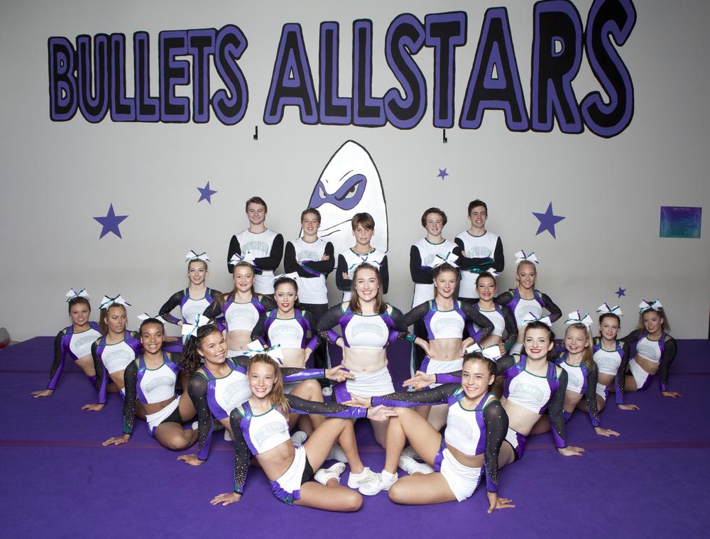 Bullets Allstar Cheerleading Melbourne