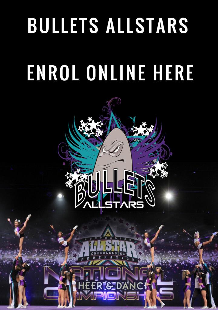 Bullets Allstars Enrol online