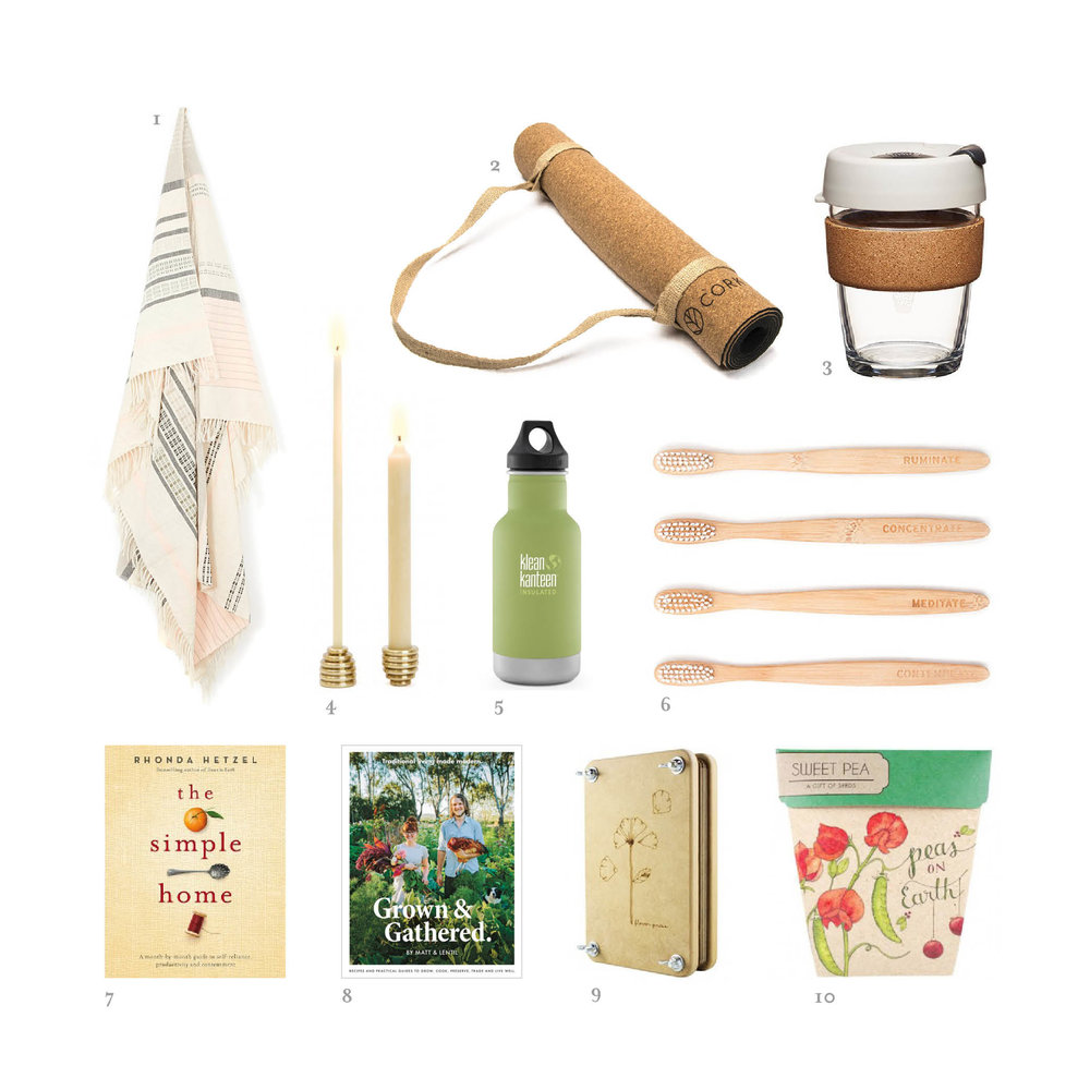 Cork Leaf Green Eco Christmas Gift Guide