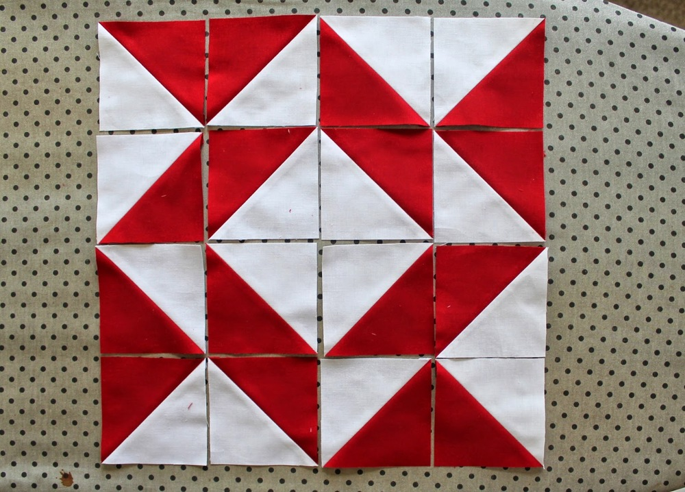Red Sky at Night - Broken Dishes and Whirlpool — Tales of Cloth ... : parallelogram quilt pattern - Adamdwight.com