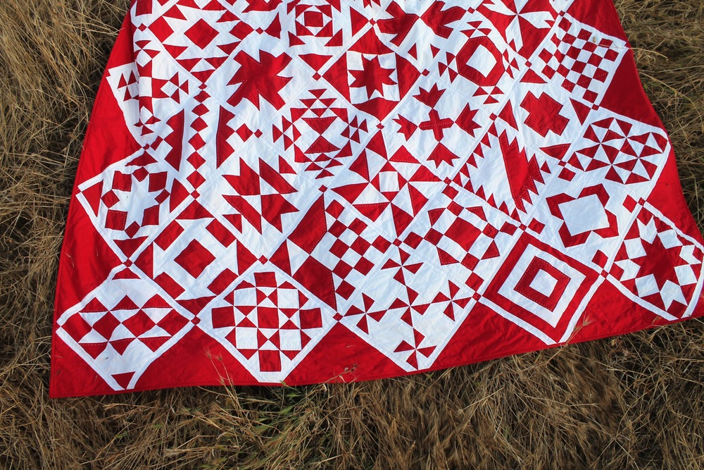 Red Sky at Night Quilt