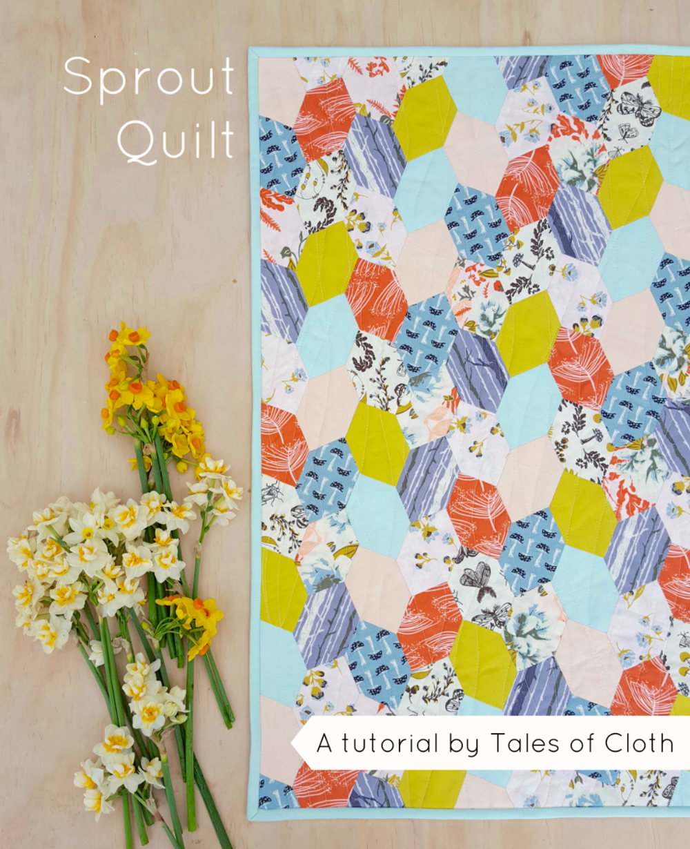 Sprout Quilt Tutorial