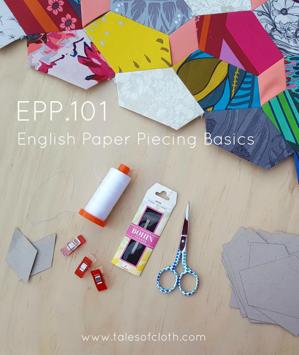 English Paper Piecing tutorial