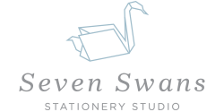 Seven Swans | Stationery Studio